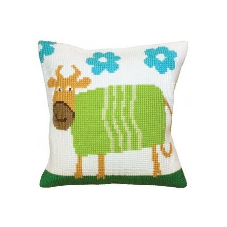 Гоблен възглавница 5398 Веселата крава